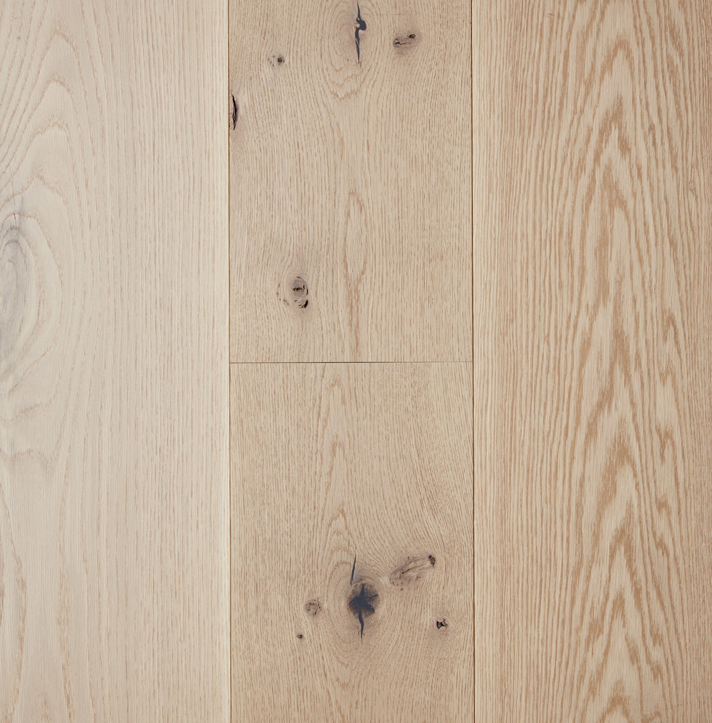 BARE, WHITE OAK, LIVE SAWN