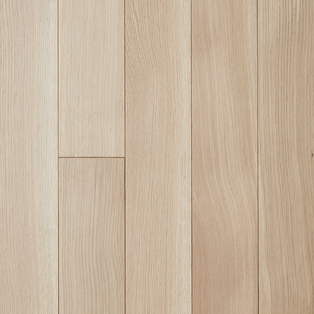 BARE, WHITE OAK, RIFT SAWN