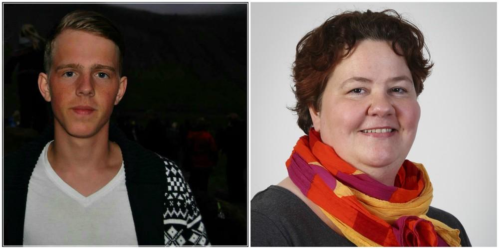 Atli Ísak Finnbogason and Inga María Guðmundsdóttir
