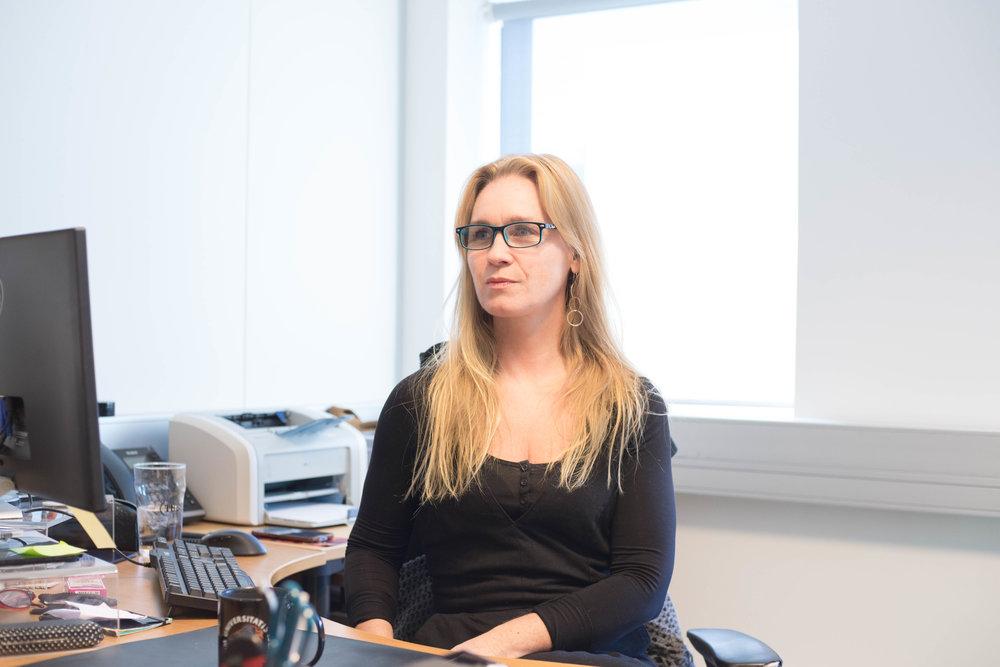 Stúdentablaðið/Eydís María Ólafsdóttir  Rebekka Sigurðardóttir, spokesperson for FS.
