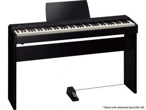 F-20 jako pianino cyfrowe.