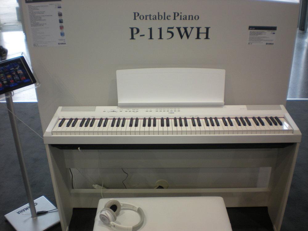 Yamaha P-115 (portable piano)