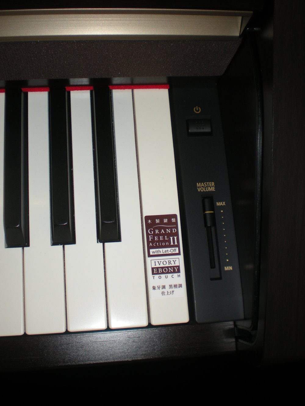 Kawai CA67 - panel