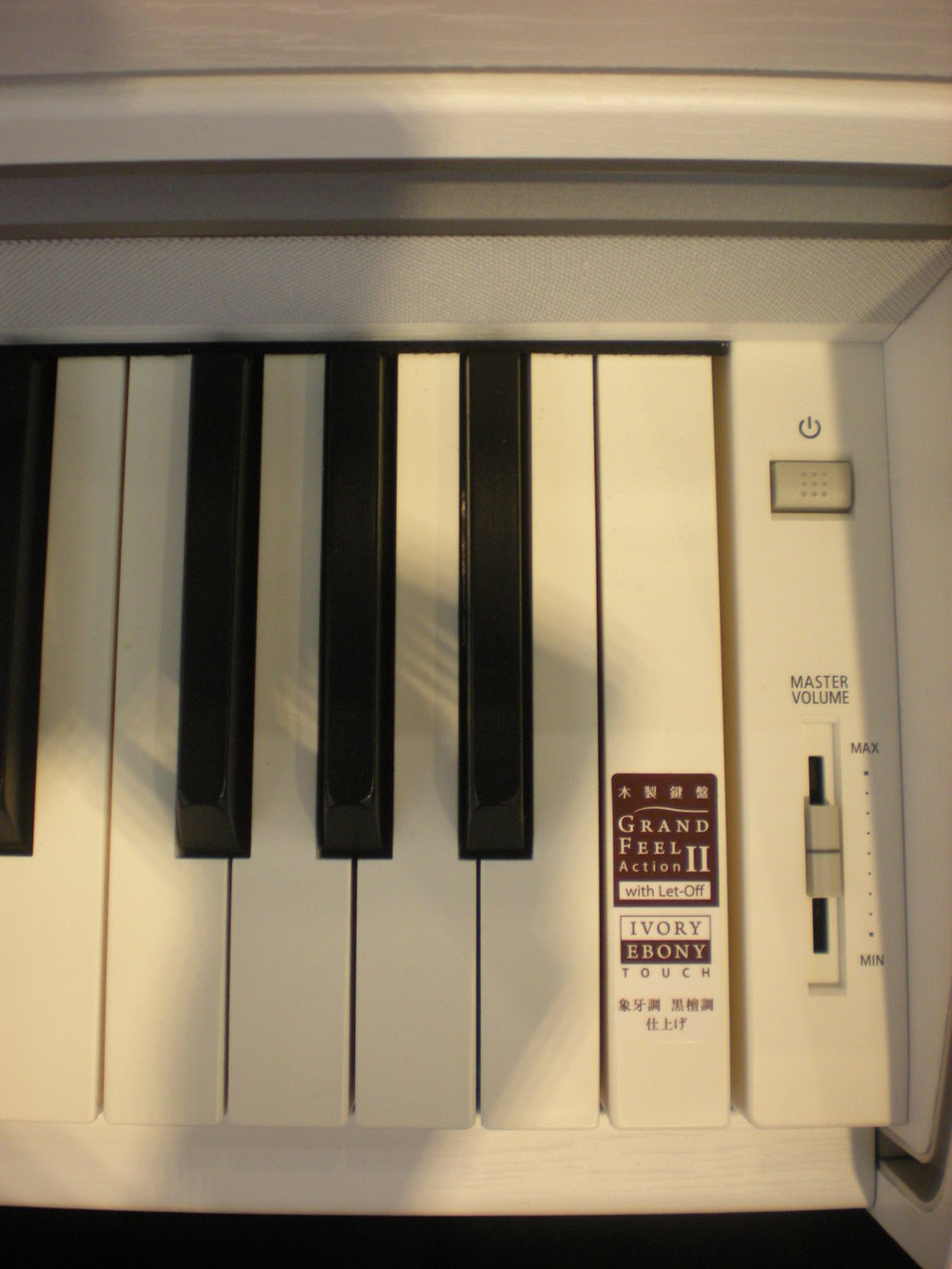 Kawai CA97 - panel