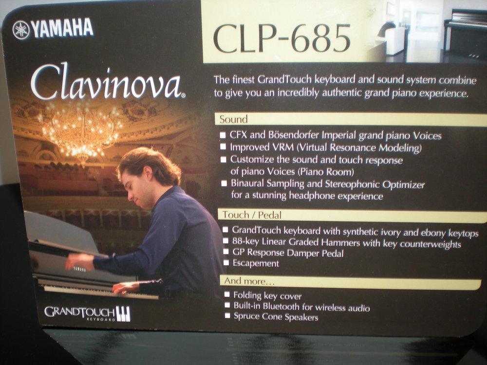 CLP-685 - klawiatura