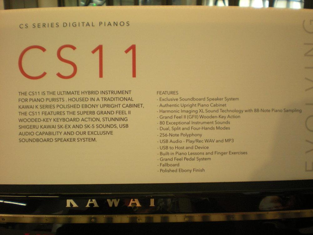 Kawai CS11 - specyfikacja