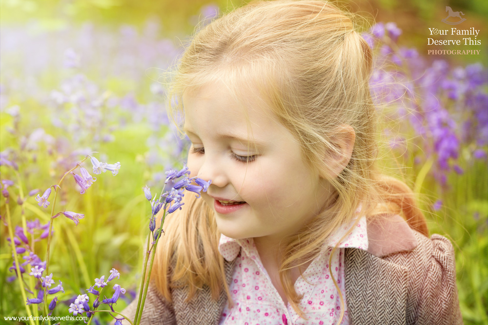 Little girls and Bluebells are just adorable! Book your Spring Photoshoot with us today, limited spaces available www.yourfamilydeservethis.com