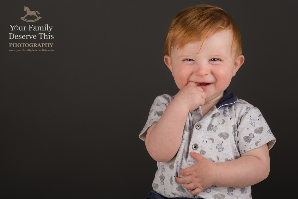 Fabulous 1st Birthday portraits at our Hampshire Photography Studio.  yourfamilydeservethis.com