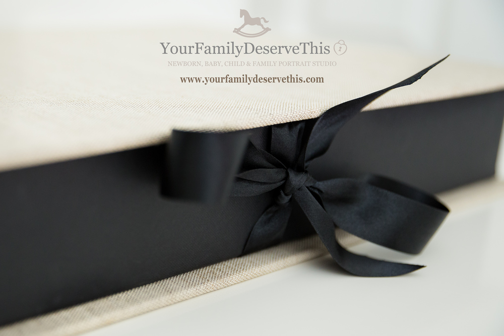 Our gorgeous  Big Beautiful Keepsake Folios are finished perfectly with a ribbon tie   www.yourfamilydeservethis.com