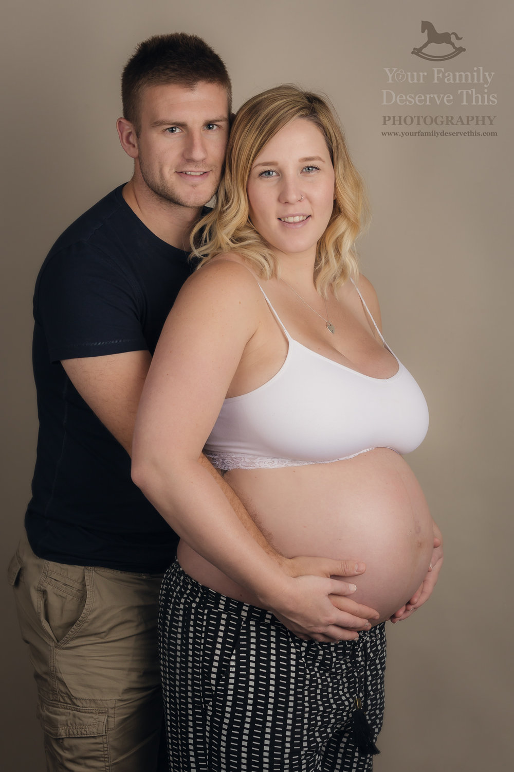 Celebrate this wonderful moment in your lives with a Maternity Portrait. www.yourfamilydeservethis.com