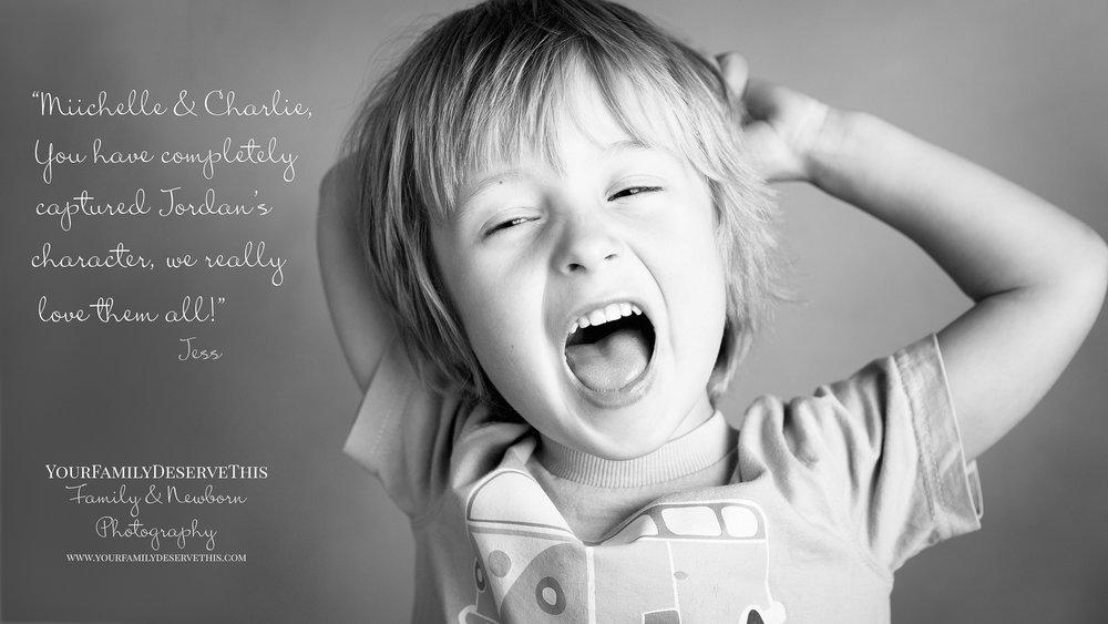 little boy smiling and jumping family photographer Basingstoke Hampshire.jpg