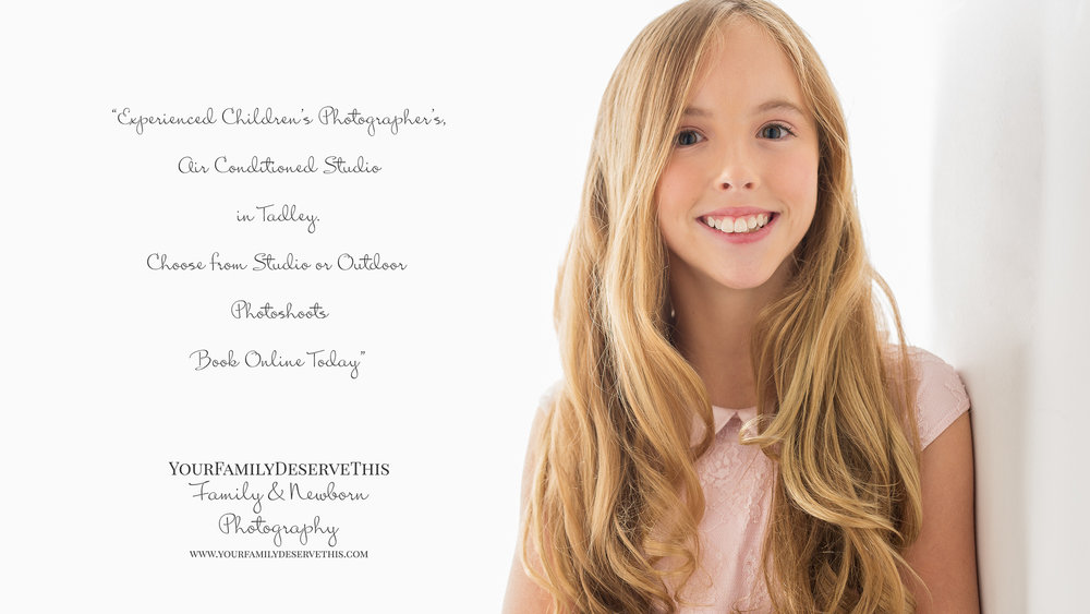 Beautiful family portraits by YourFamilyDeserveThis Photography - our Studio in Tadley Hampshire -  YouDeserveThis Headshots, Makeover and Photography Studio
