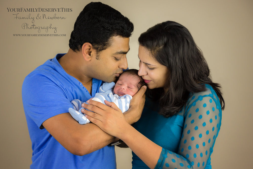 Beautiful first family portrait with little Amay  www.yourfamilydeservethis.com