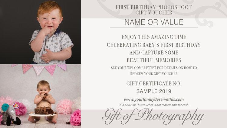 First Birthday Photoshoot YourFamilyDeserveThis Newborn And Family