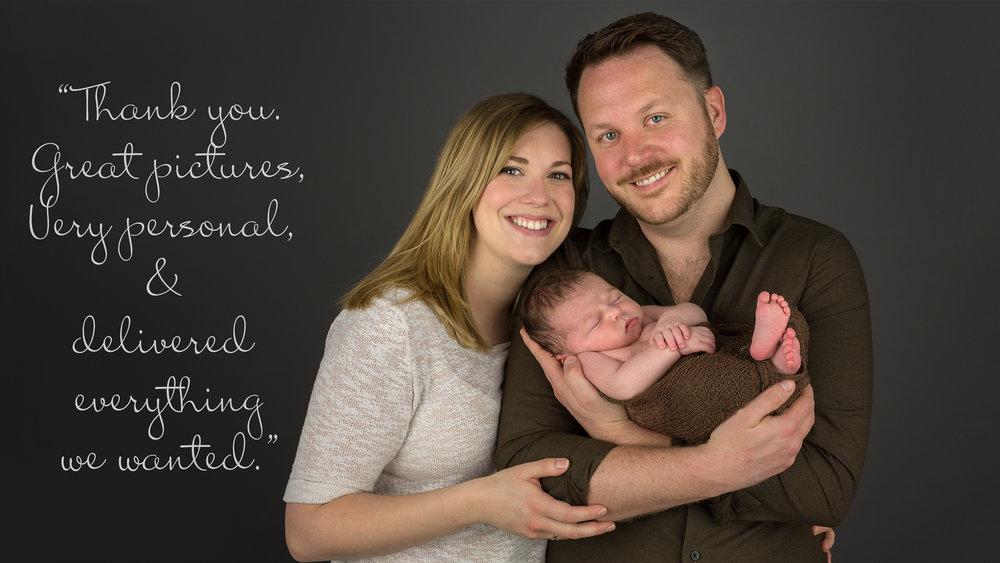 Tadley Hampshire Newborn Photographer newborn with mummy and dad