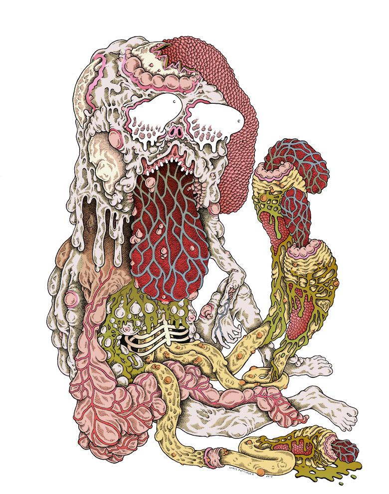 Protruding Larval Regiment - Chris Pottinger