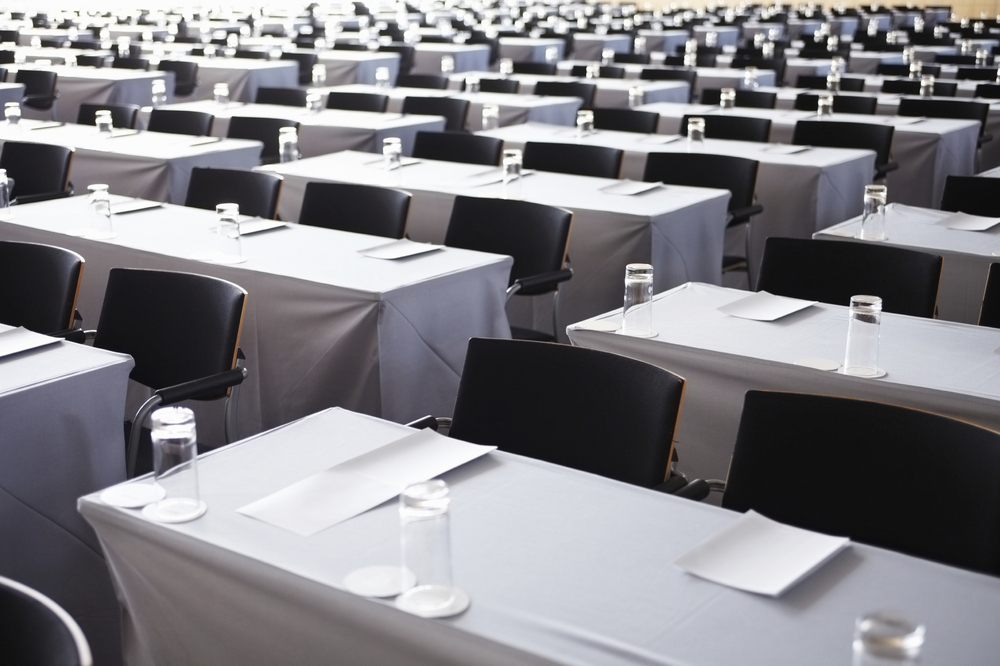 tips for planning your corporate event - empty conference room