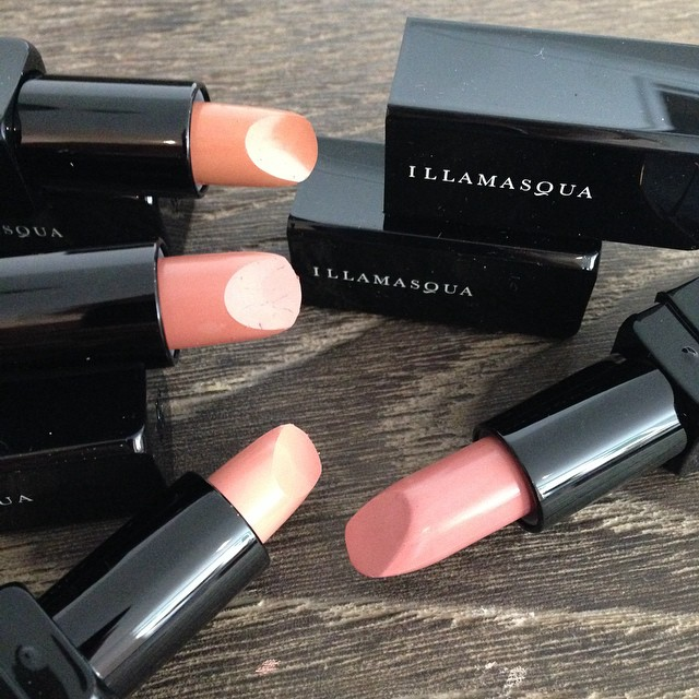 New #nudes from #Illamasqua #lipstick #nudelipstick #motd #kit