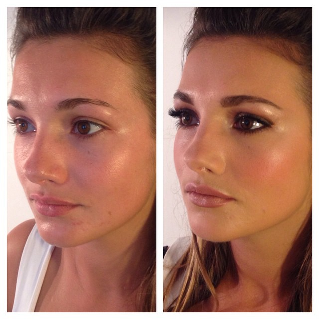 #bridalbeauty #makeup #mua #makeupartist #mac #beforeandafter
