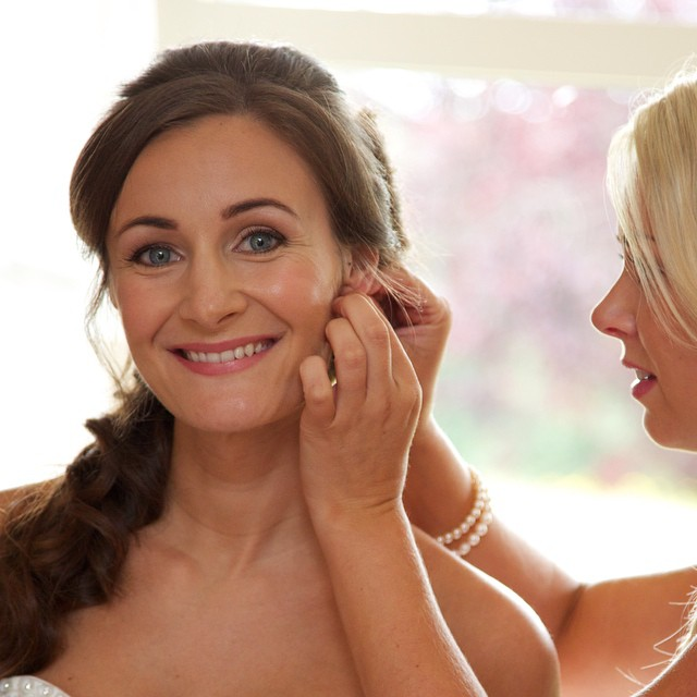 Gorgeous Anna on her wedding day, #makeupbyme