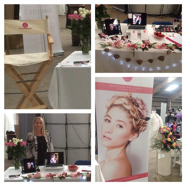 Thanks for all the brides who stopped by my stand yesterday and for booking with me, really enjoyed the fayre! #welshweddingfayre #carmarthen #brides #weddingsweddingsweddings #makeup #bridesmakeup #bridalbeauty