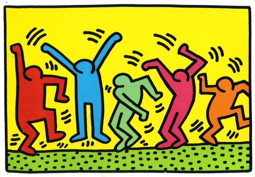 Keith Haring Dancing Man