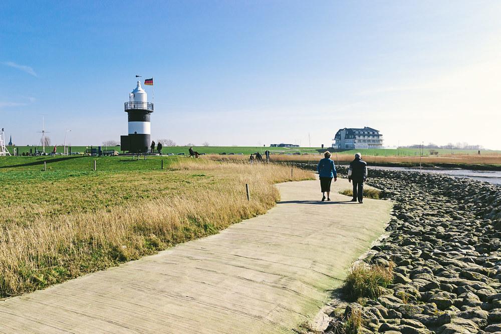 Spaziergang an der Nordsee