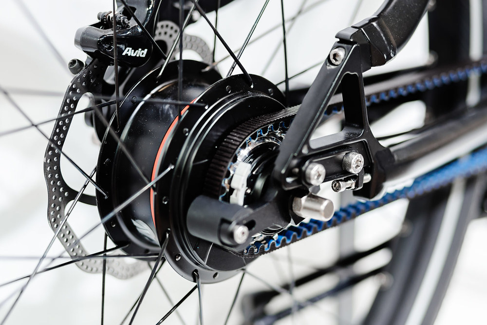 Nuvinci und Gates Carbon Drive am GRACE MXII