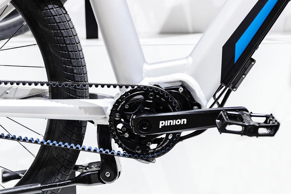GRACE ONE mit Pinion Getriebe und Gates Carbon Drive