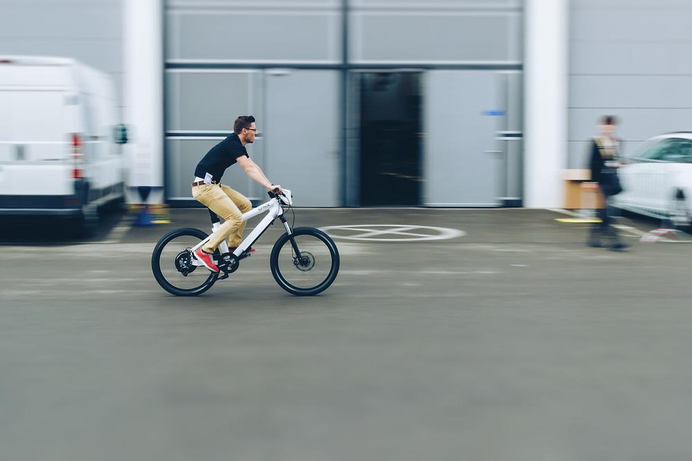 Testparcours Eurobike Mitzieher mit dem GRACE ONE E-Bike