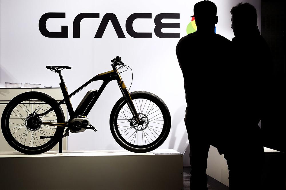 Eventfotograf GRACE MXII E-Bike beim Sechstagerennen Berlin