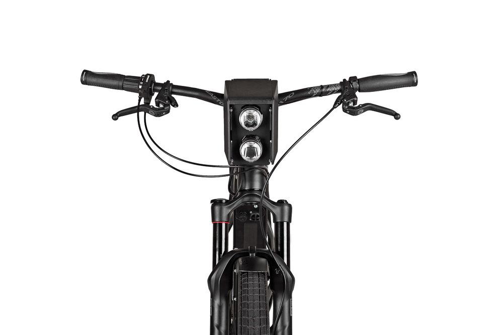 Produktfoto Vorderansicht GRACE URBANIC Black ebike
