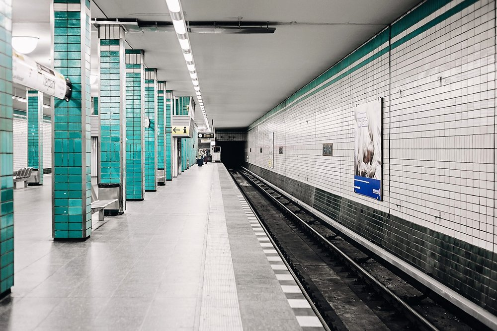 U-Bahn Station Berlin Tierpark