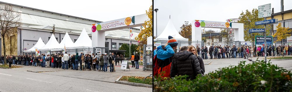 Eingangsbereich der Eat&STYLE Messe München | Fotograf Peter Meyer | pm-modus