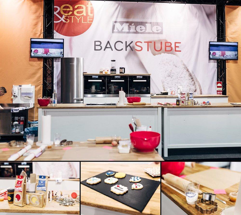 Miele Backstube zum Mitmachen beim Backen auf der eat&STYLE Messe | Fotograf Peter Meyer | pm-modus.com