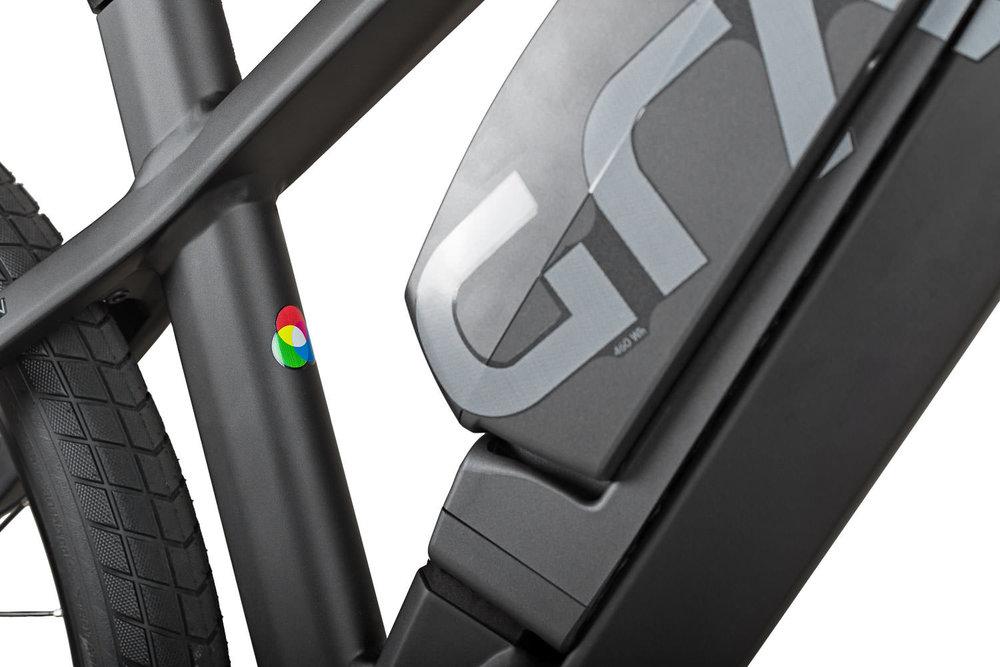 Produktbild GRACE MX II ebike Detailansicht Akku Rahmen