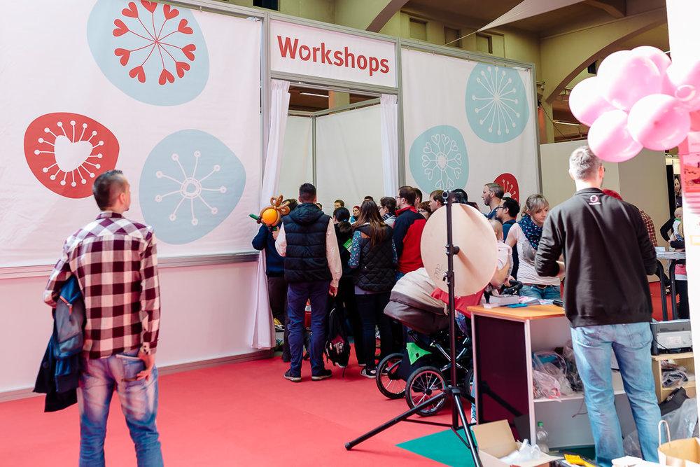 Großer Besucherandrang beim Elterngeld-Workshop der Babywelt-Messe in Dresden