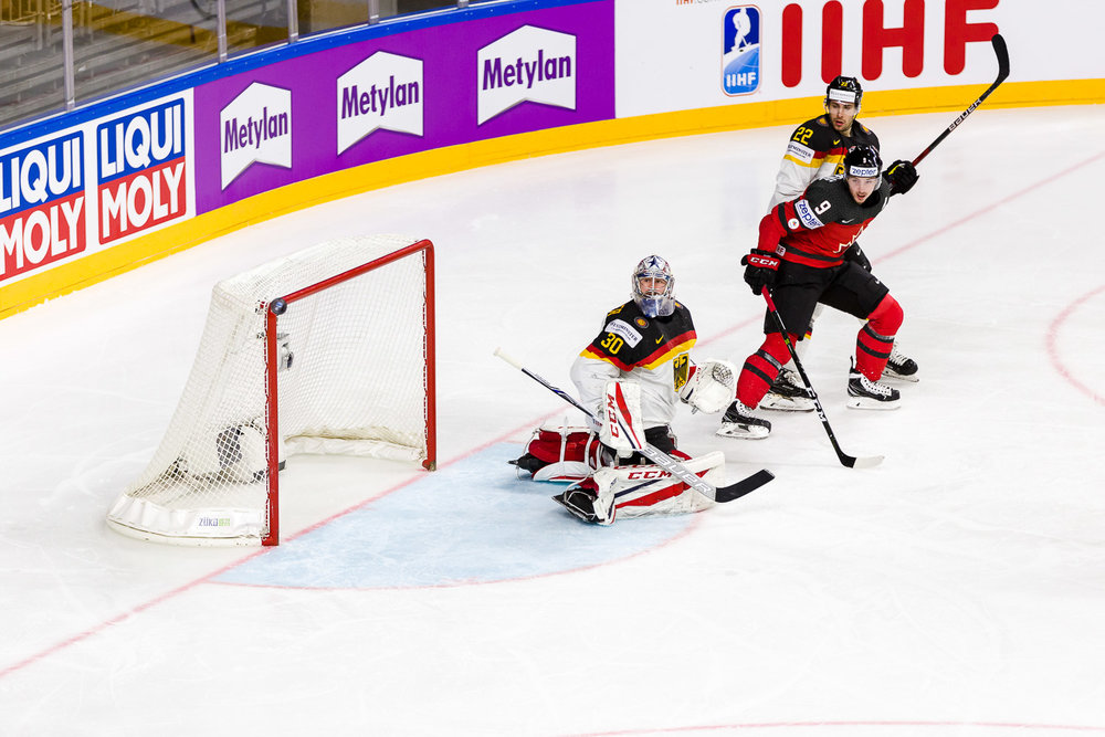 Eishockey-WM-Deutschland-Kanada