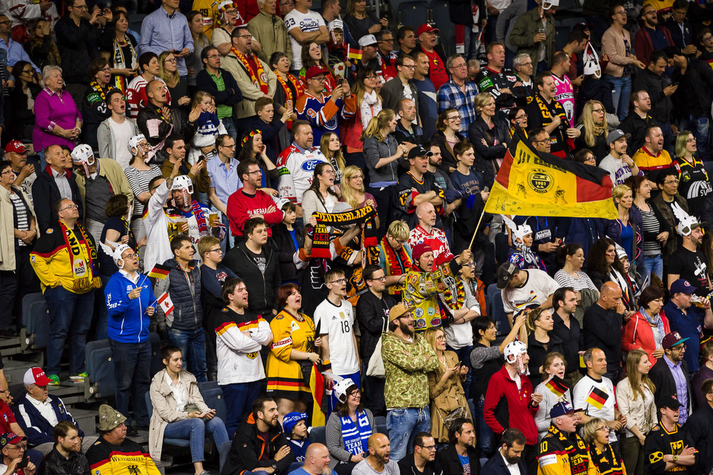Eishockey WM 2017 - ViertelfinaleDeutschland - Kanada