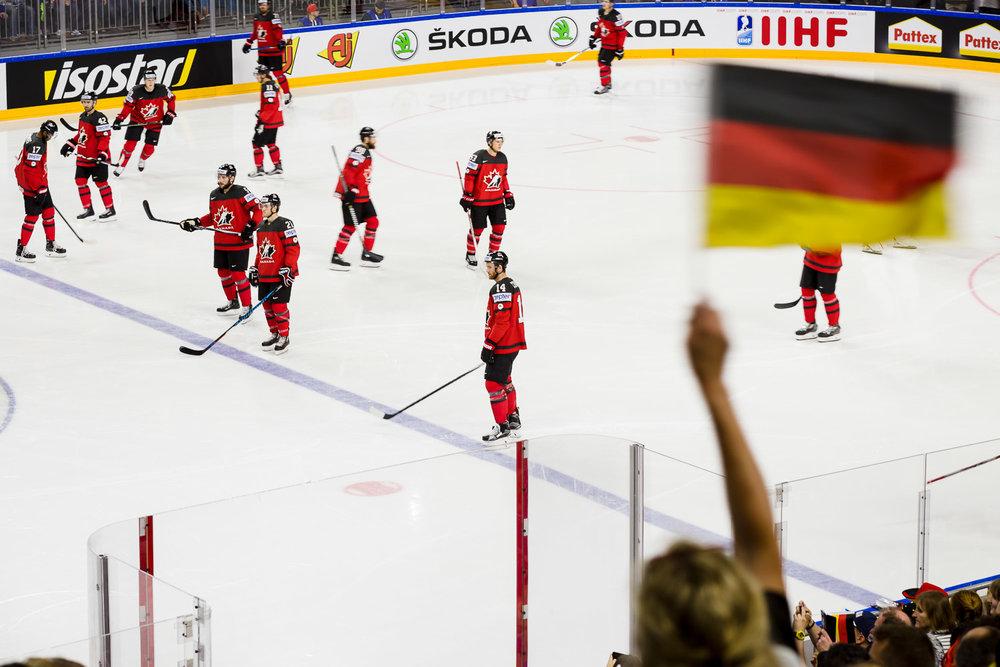 Kanadische Eishockey Nationalmannschaft im WM Viertelfinale