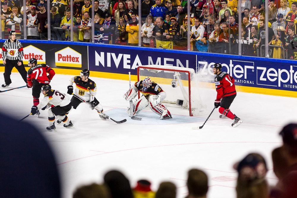Deutschland Kanada Eishockey Weltmeisterschaft 2017