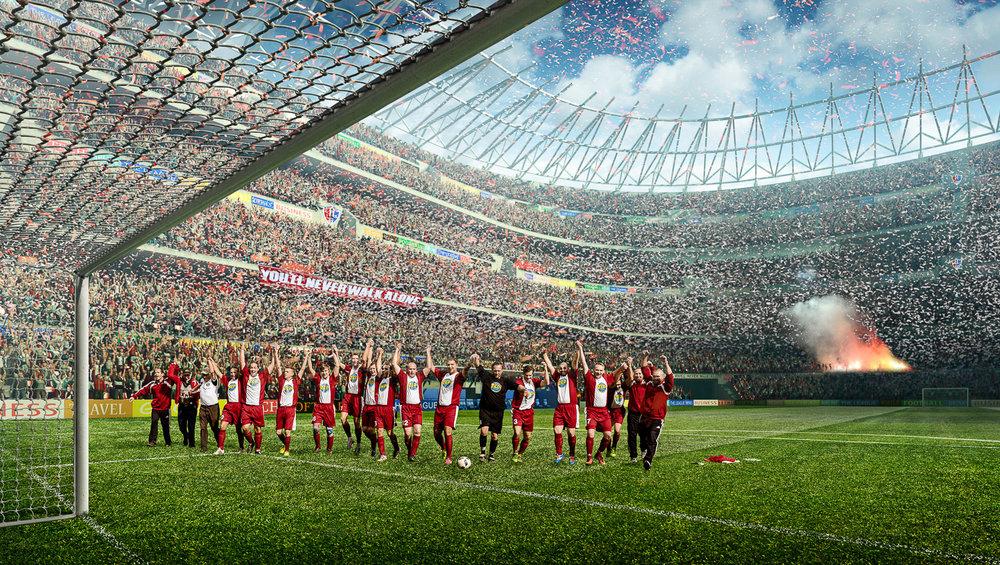 Imagebild vom SV Suedharz Hayn im Stadion | Foto: Peter Meyer pm-modus.com