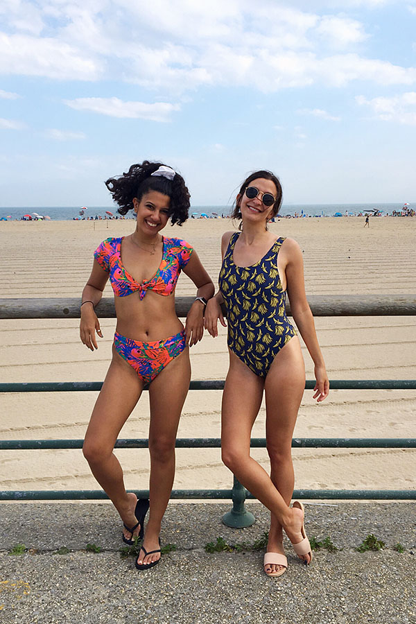 87fa417190a What happens when you pair Novel Swim and Mandalynn Swim for a weekend at  the Riis Beach Bazaar? A Bikini Roadshow with double the pleasure and  double the ...