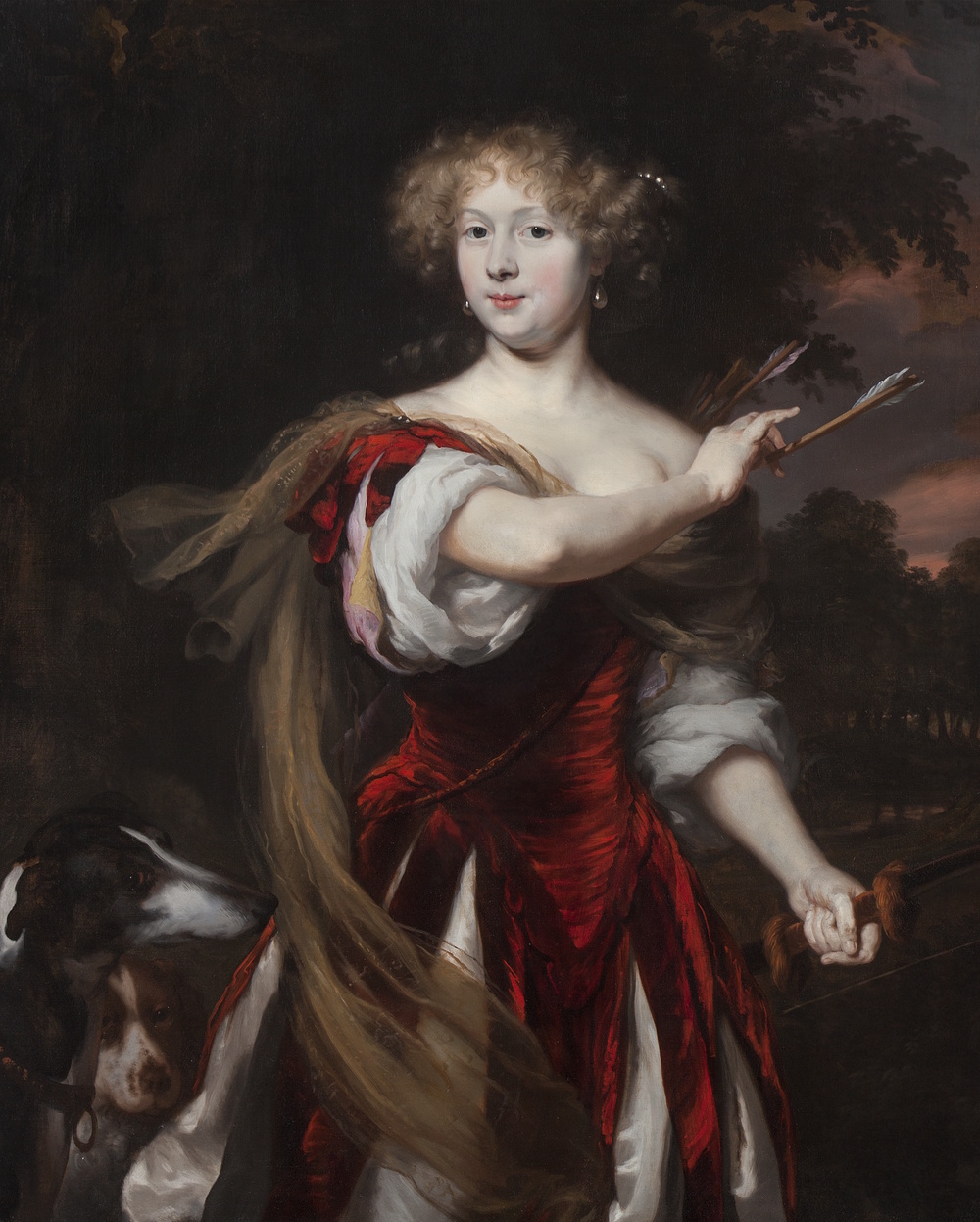 13Maes - Portrait of a Lady as Diana copy.jpg