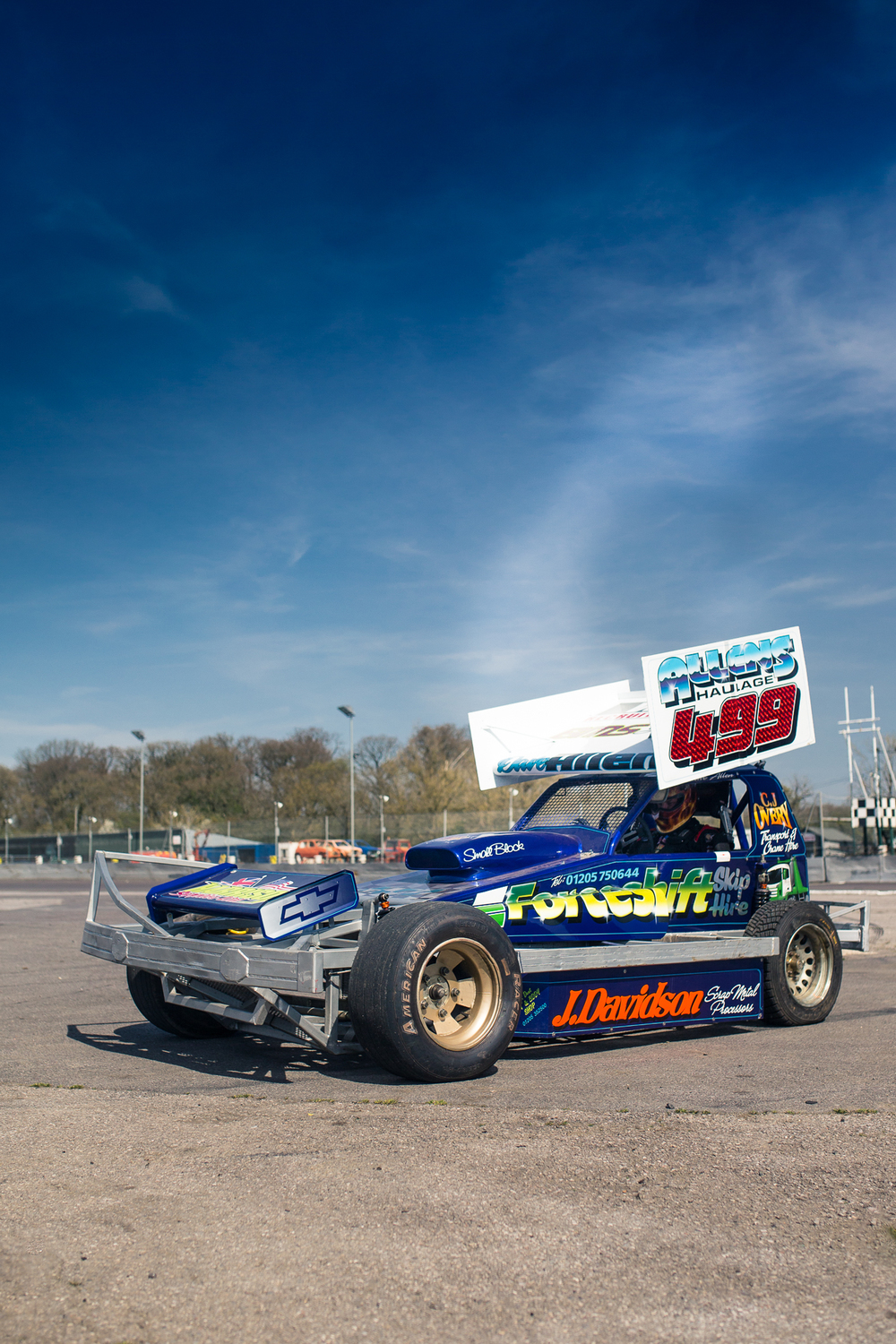 A 600+ BHP stock car makes some pretty mean noises