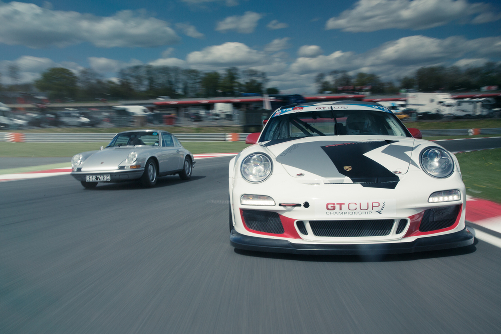 Photoshoot:RPM Technik's Porsche GT Cup 911 and its older brother
