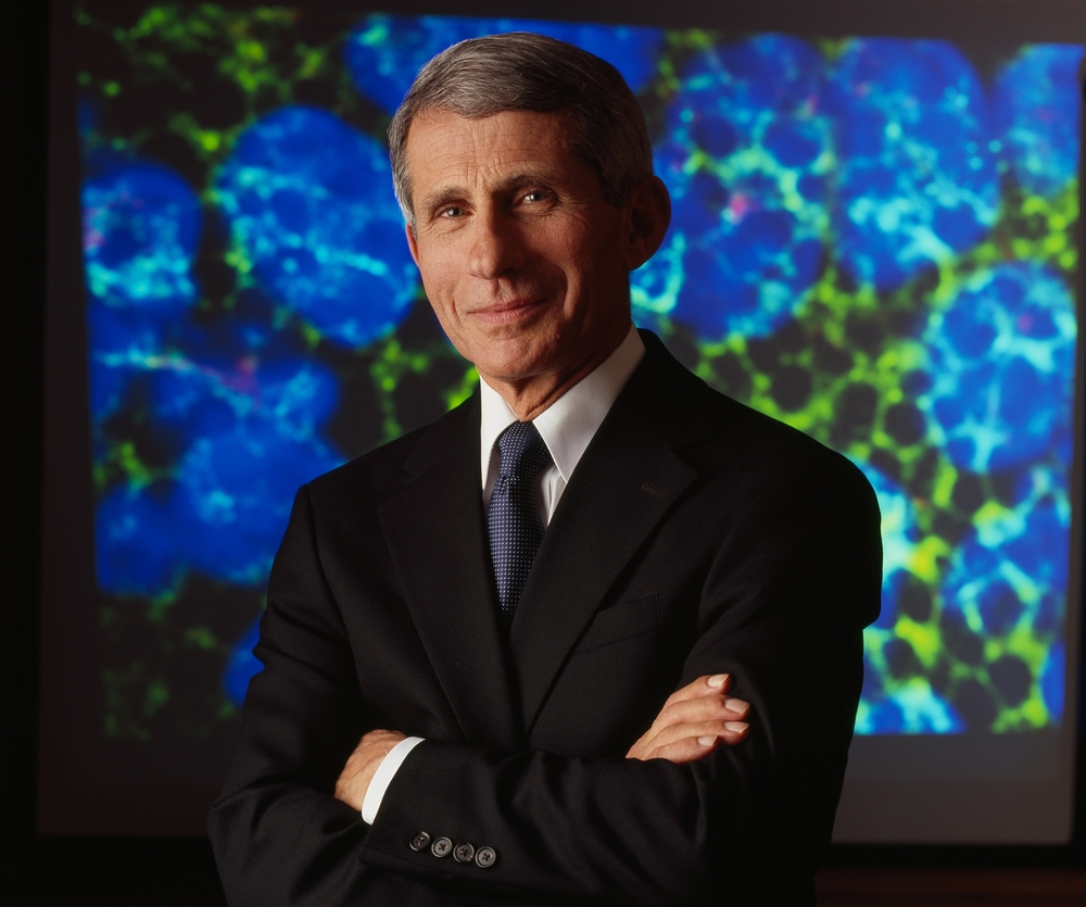 Dr. Anthony S. Fauci. Photo courtesy NIAID.