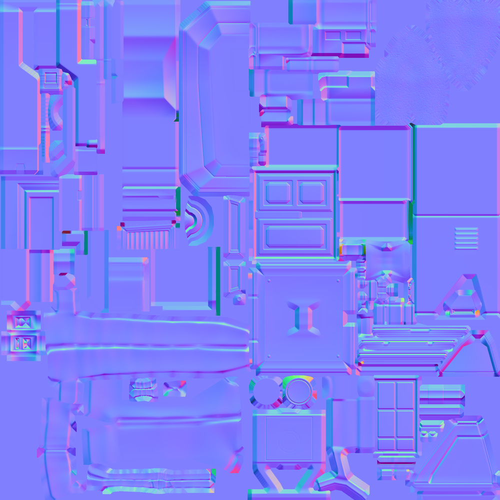 Concept Normal Map