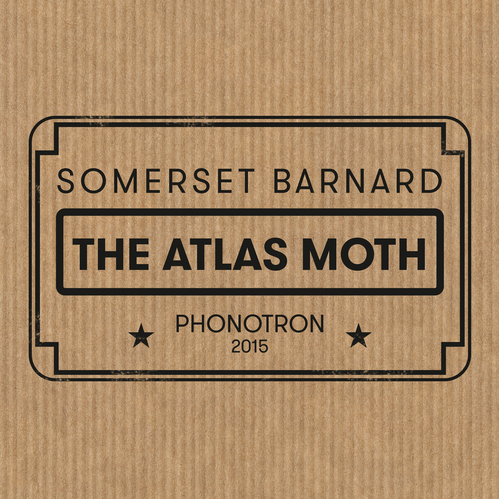 "He has been travelling the globe with the aim to busk his way around the world. You may have seen him in a town near you. As things happen, Somerset ended up recording an Album at Sonobelle's in Vienna, Austria calling it 'The Atlas Moth"". This masterpiece of scabby delta blues comes from deep down a black soul, from a vagabond and hopeless wanderer constantly driven by and aiming for the next adventure."