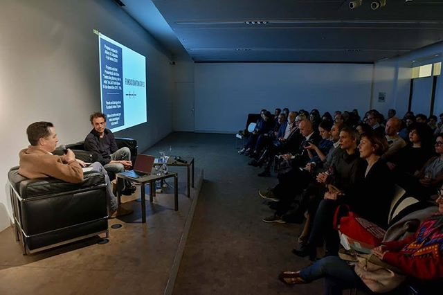Four years of studying art history, and I was still terrified to talk about art.  Thanks to Johan Grimonprez, the Fundació Tàpies, the Institut Ramon Llull and the Han Nefkens Foundation for a wonderful event!